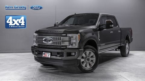 New 2019 Ford Super Duty F-250 SRW Platinum