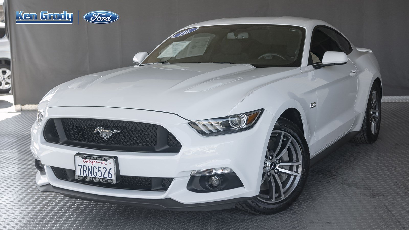 Certified pre owned 2016 ford mustang gt rwd 2dr car
