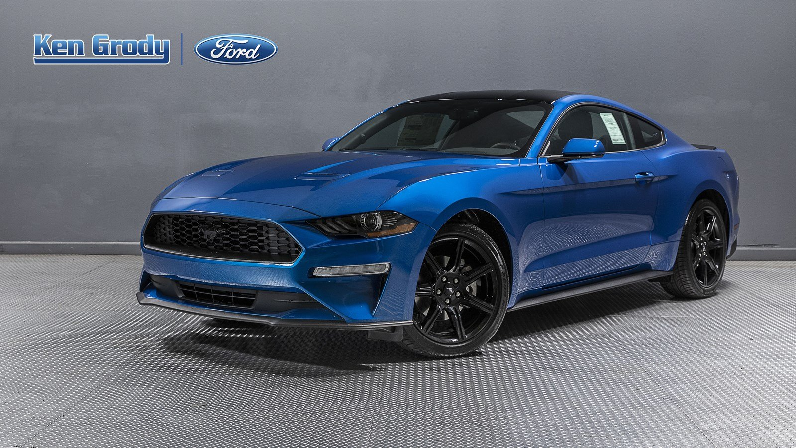 New 2019 Ford Mustang Ecoboost Rwd 2dr Car