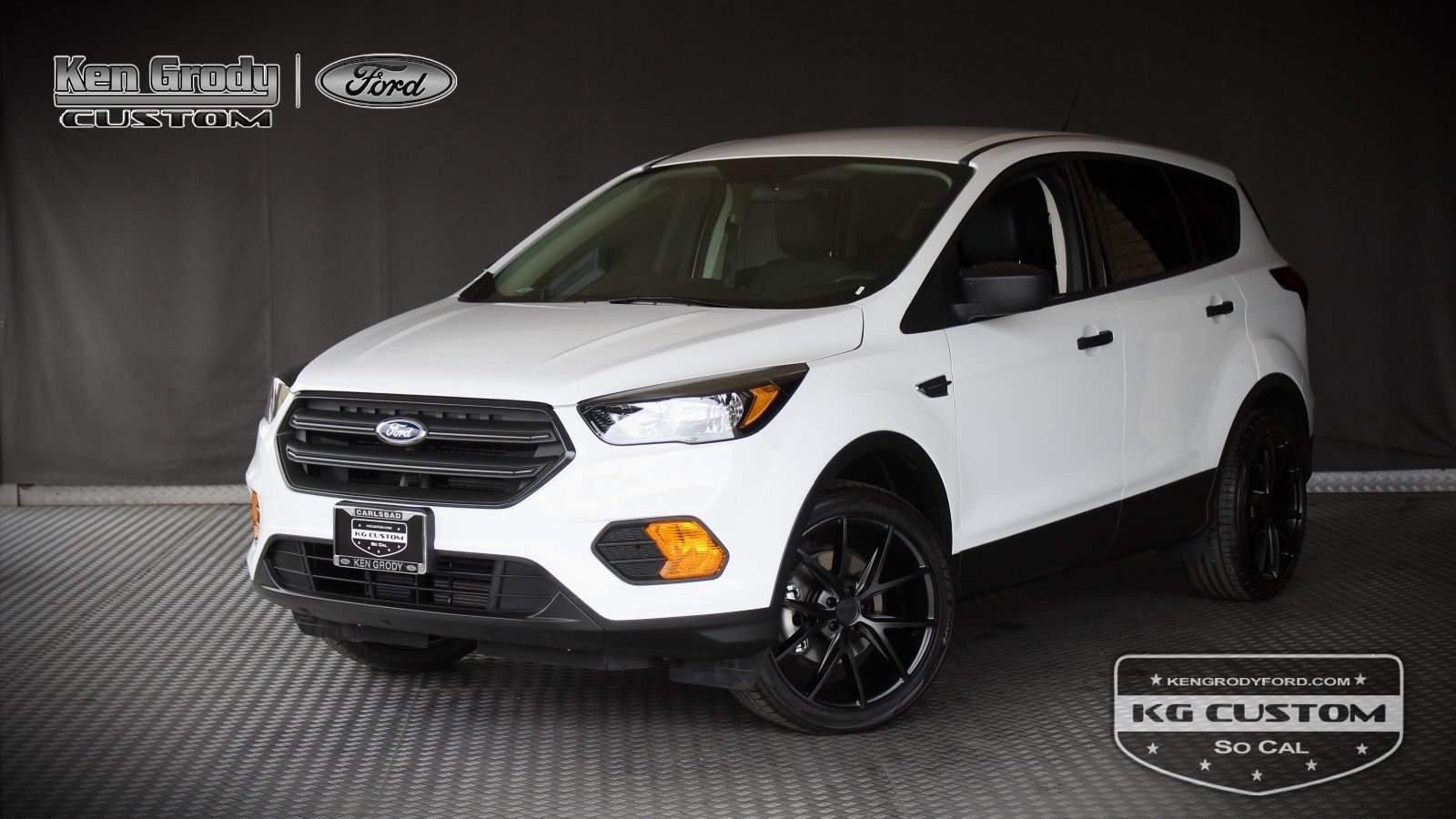 New 2019 Ford Escape KG CUSTOM