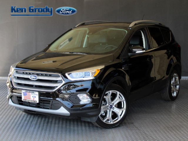 New 2017 Ford Escape Titanium Sport Utility in Carlsbad