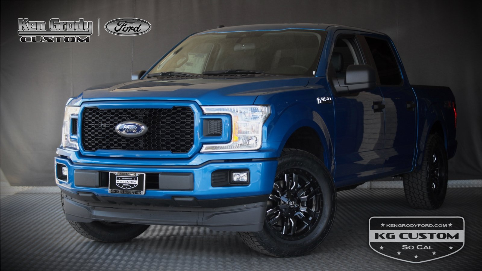 New 2019 Ford F-150 KG CUSTOM