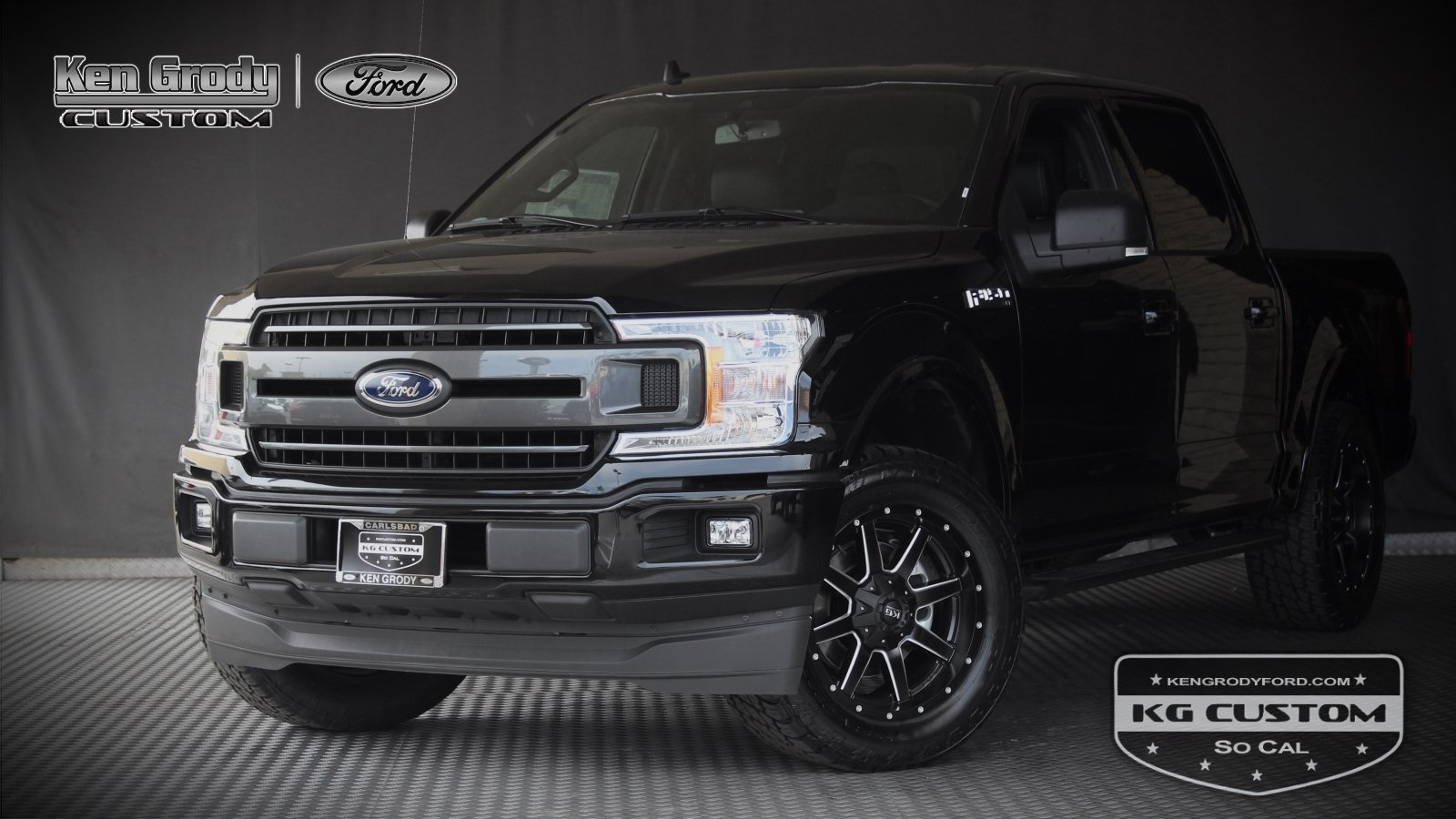 New 2019 Ford F-150 XLT KG CUSTOM