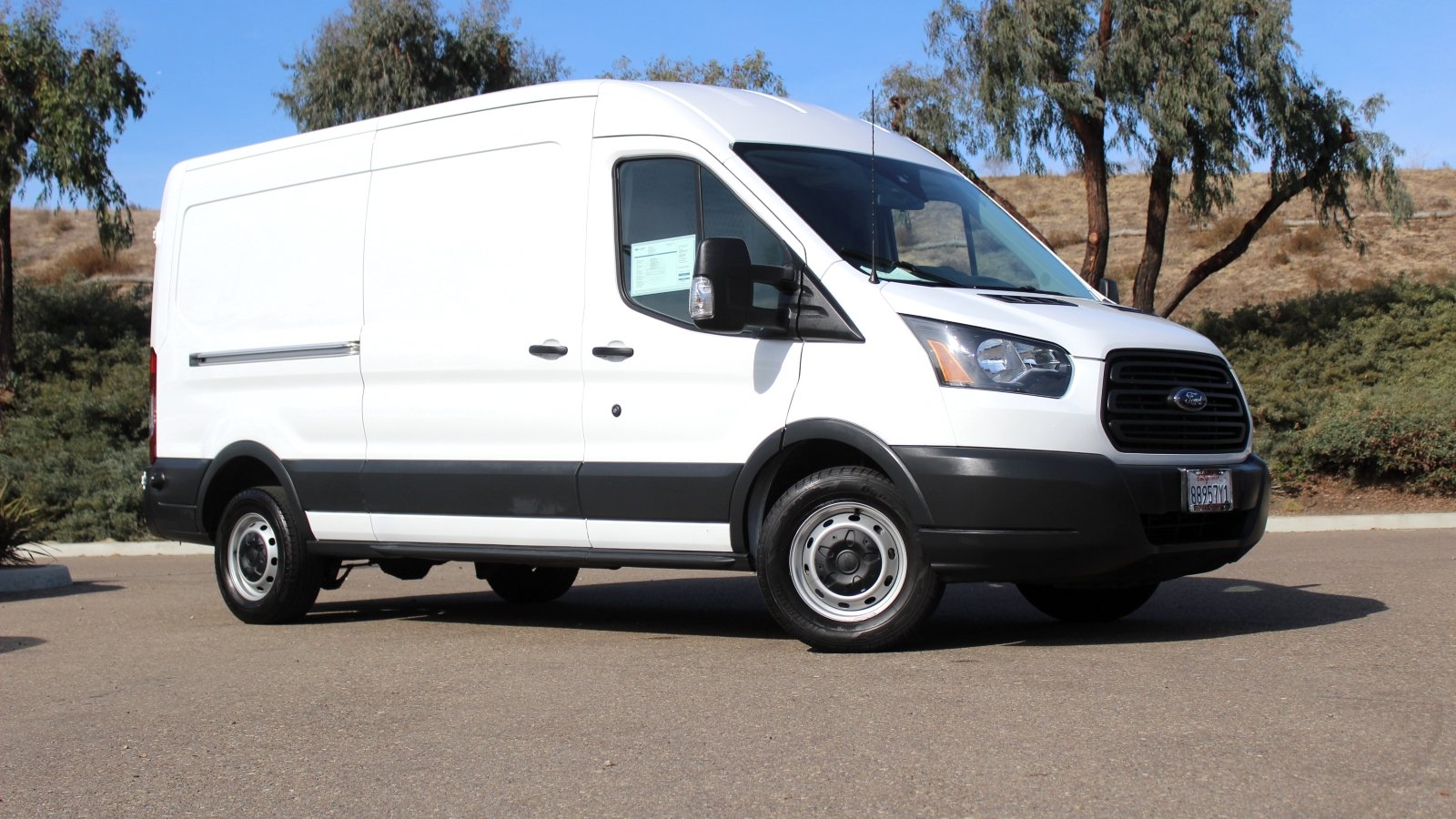 Certified pre owned 2015 ford transit cargo van